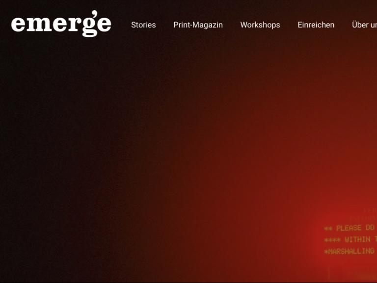 emerge-mag.com Redesign